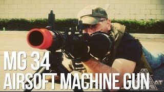 RWA MG 34 MG34 Airsoft Machine Gun AEG AirSplat On Demand