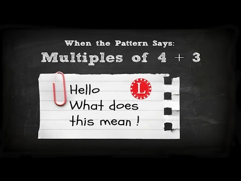 Multiples in Knitting Patterns