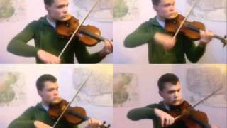 Bohemian Rhapsody for Four Violins
