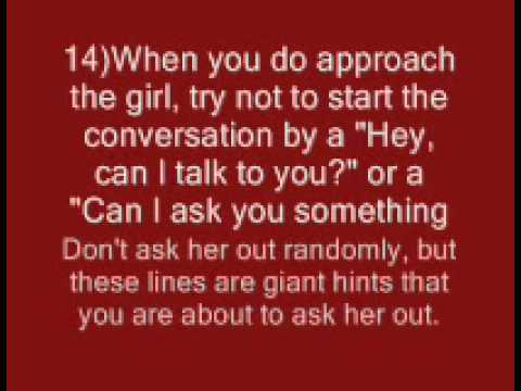 how to ask your girlfriend out
