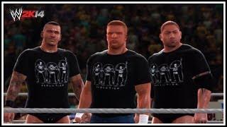 WWE 2K14 Adapt Or Perish Evolution! (2014 Attires
