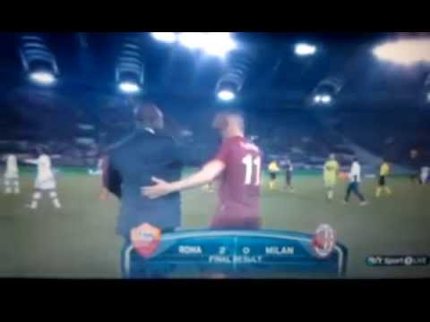 Roma vs Milan 2-0 2014 All Goals & Highlights 25/04/2014 HD
