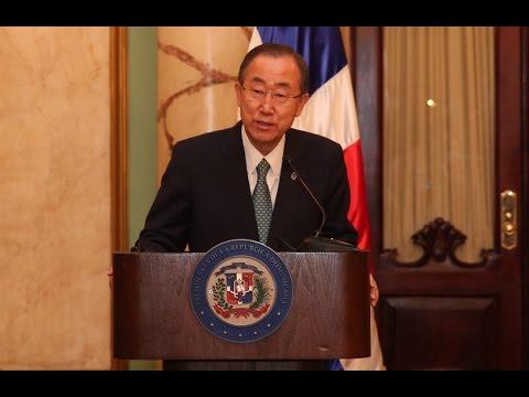 Discurso del Secretario General de la ONU Ban Ki-Moon