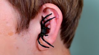 SPIDER IN EAR!