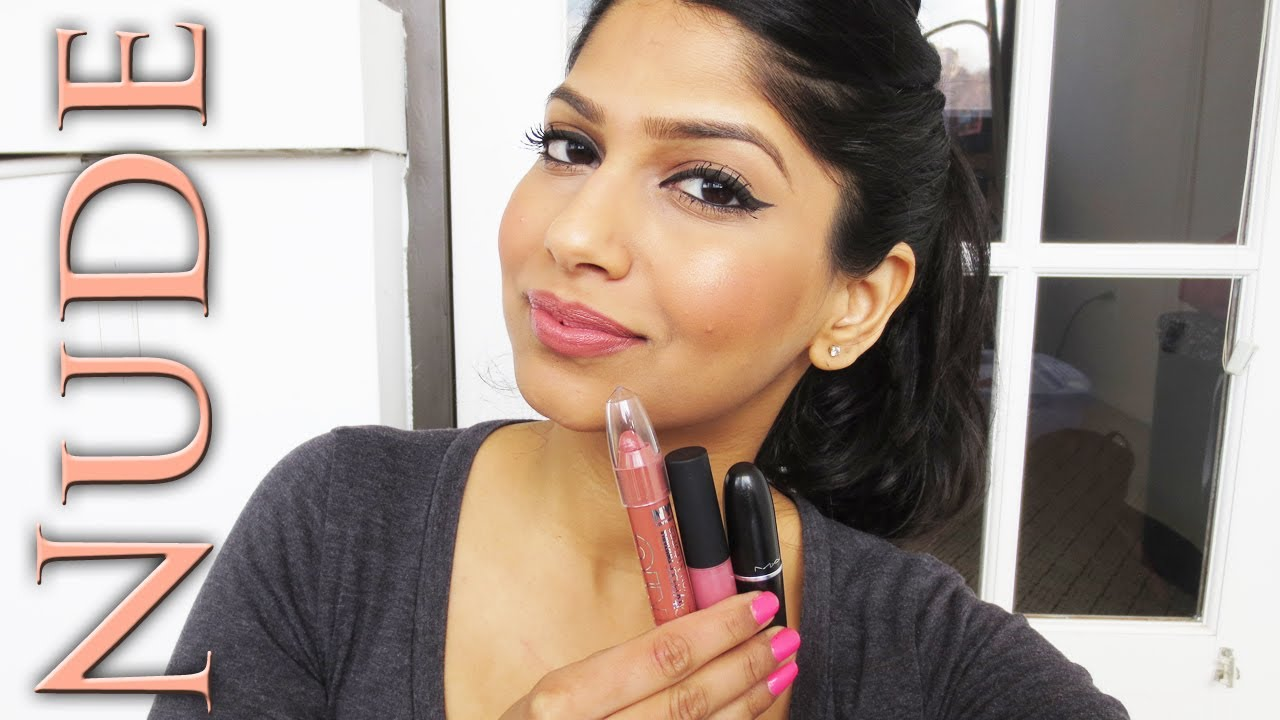 My Top Nude/Neutral/Pink lipsticks for Brown/Indian/Olive ...