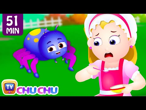Little Miss Muffet and Many More Nursery Rhymes & Kids Songs Collection | ChuChu TV
