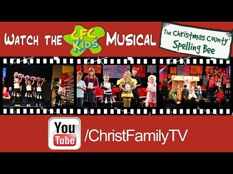 Christmas County Spelling Bee - Christ Family Church