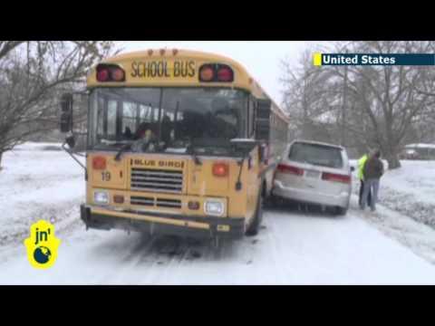 Cold snap hits southern US hard