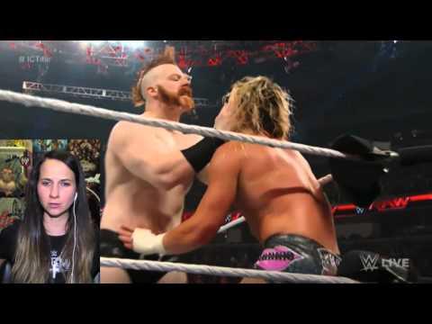 WWE Raw 3/30/15  Sheamus Returns Live Reaction