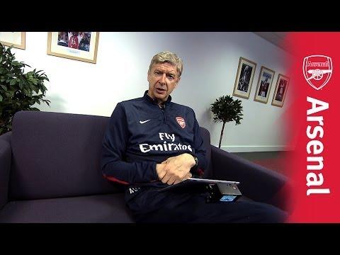 Arsenal Twitter Takeover - Arsene Wenger
