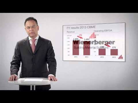 Wienerberger - CEO Message on Year Results 2013