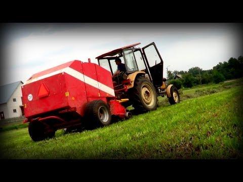 Sianokosy 2013 na Podlasiu - Ursus Farmtrac & Metal Fach