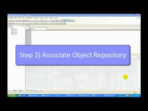 How to create Shared Object Repository in QTP