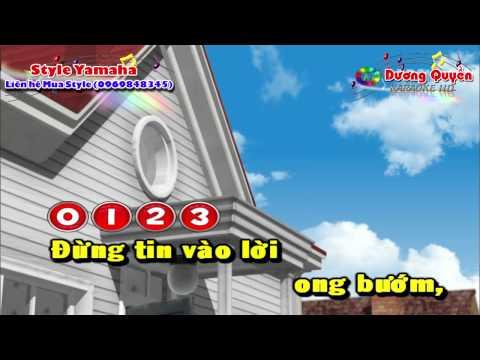 [Karaoke Nhạc Sống] Cạm Bẫy Tình Yêu (Remix)