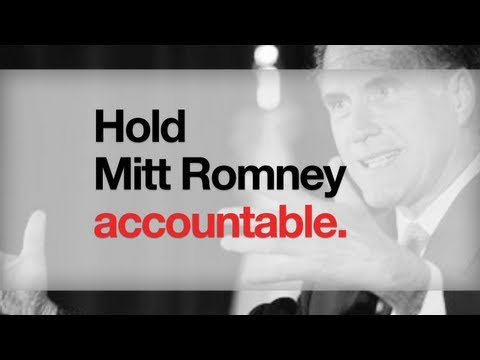 Hold Mitt Romney accountable, join the Truth Team at BarackObama.com/TruthTeam