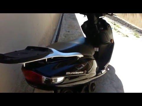 Minhas Impressões - Suzuki Burgman 125i