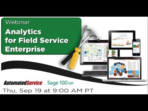Analytics for Field Service Enterprise - Webinar Sep 19, 2013