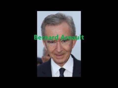 Billionaires Row - Bernard Arnault
