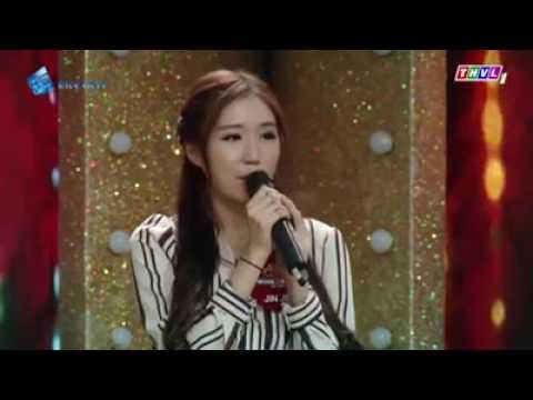 Hot girl Hàn Quốc cover Phía sau một cô gái giọng Việt -Hàn cực hay ,giọng Việt chuẩn hơn Hari won