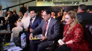 وزير الإسكان يصل إلى قاعة المؤتمرات للمشاركة في مؤتمر النخبة العقارية