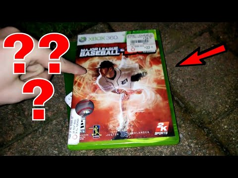 WHAT'S IN THE CASE??? Gamestop Dumpster Dive Night #305