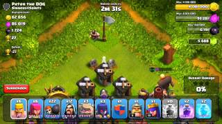Clash Of Clans Defenseless Champion #18: Defense Replays