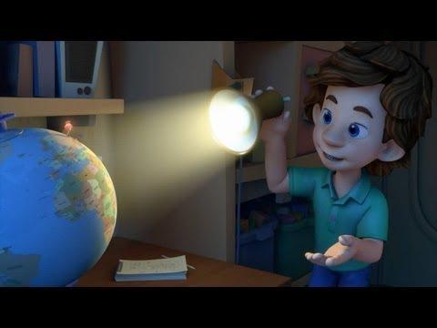 Постер к мультфильму фиксики глобус