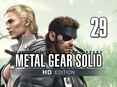 Metal Gear Solid 3 Snake Eater Collection Walkthrough - Part 29 Final Battle THE BOSS Let's Play