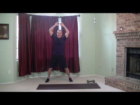 15 Min Low Intensity Workout - HASfit Low Intensity Cardio - Low Impact Aerobics Exercise