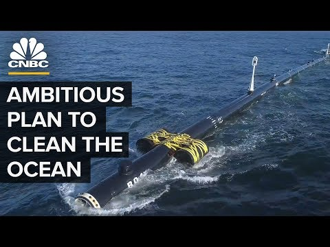 Ocean Clean Up Launched