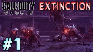 NEW Call Of Duty Ghosts Extinction Point Of Contact Solo