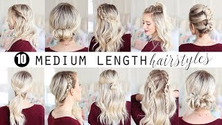 TEN Medium Length Hairstyles!!!  | Twist Me Pretty