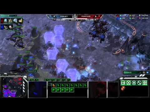 Parting vs Violet- This is MLG StarCraft II