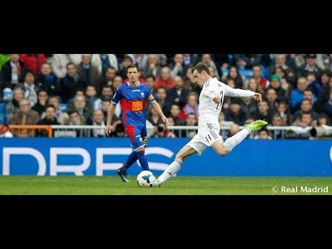 Gareth Bale on his incredible goal against Elche