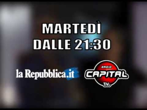 WebNotte, ogni martedì sera su Radio Capital TiVù e Repubblica.it