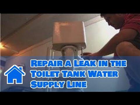 leaky toilet base repair