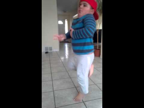 Upcoming dancer, 1st take (5 years old)