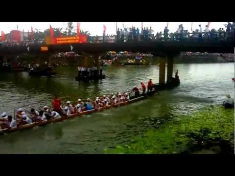 [Đua thuyền Lệ Thủy 2012] Trở về Hạ tiêu