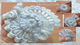 Crochet Freeform Flower Tutorial 2 Part 2 Of 2 Scrumbling