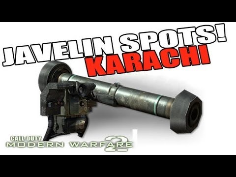 Karachi Javelin Spots Tutorial Guide! (Best Locations) MW2