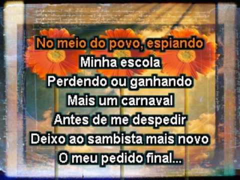 VIDEOKE-Alcione -Nao deixe o samba morrer.avi