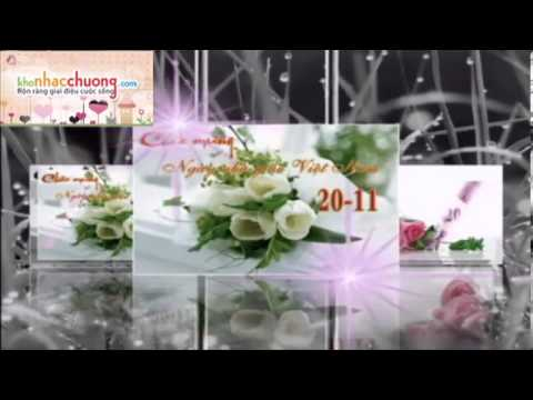 Chào mừng ngày nhà giáo Việt Nam 20/11 - Ca khúc
