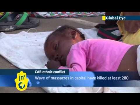 Thousands seek refuge in Catholic mission in Bangui