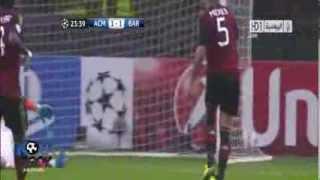 Milan 1-1 Barcelona Ma��