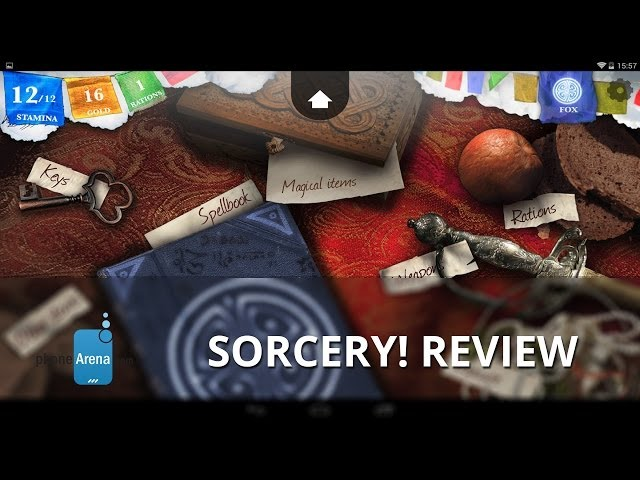 Sorcery! review: a beautiful, fantasy-filled game book for Android and iOS