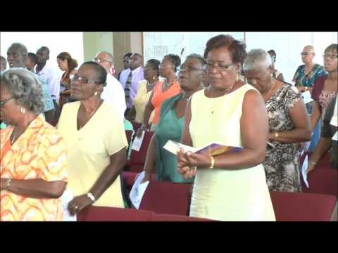 Methodist Church, Ann Gill Memorial, Barbados Palm Sunday #2. April 13 2014