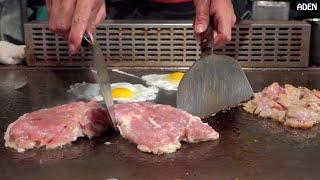 Taiwan Street Food: Chicken Teppanyaki