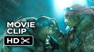 Teenage Mutant Ninja Turtles Movie CLIP Sneaking In