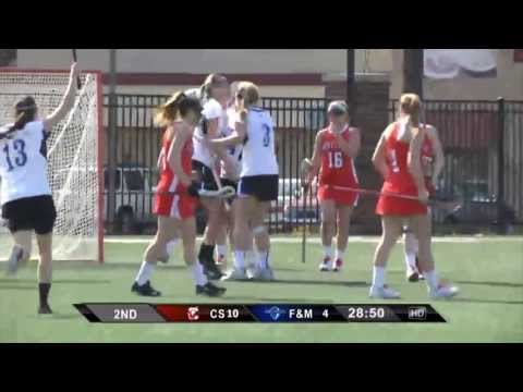 2013 F&M Women's Lacrosse Season Highlights
