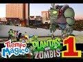 tiempo magico y plantas vs zombies